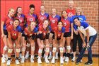 Robbinsdale Armstrong Falcons Girls Varsity Volleyball Fall 18-19 team photo.