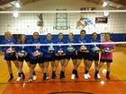Ash Fork Spartans Girls Varsity Volleyball Fall 18-19 team photo.