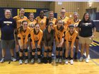 Goldsboro Cougars Girls Varsity Volleyball Fall 18-19 team photo.