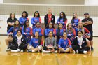 Washington Patriots Girls Varsity Volleyball Fall 18-19 team photo.