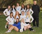 Bosque Bobcats Girls Varsity Volleyball Fall 18-19 team photo.