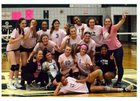 West Bloomfield Lakers Girls Varsity Volleyball Fall 18-19 team photo.