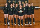 Lynden Lions Girls Varsity Volleyball Fall 18-19 team photo.