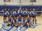 Safford Bulldogs Girls Varsity Volleyball Fall 18-19 team photo.