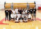 Tucson High Magnet School Badgers Girls Varsity Volleyball Fall 18-19 team photo.