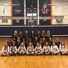 Dickson County Cougars Girls Varsity Volleyball Fall 18-19 team photo.