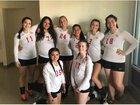 Coast Union Broncos Girls Varsity Volleyball Fall 18-19 team photo.