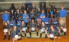 Sylvan Hills Bears Girls Varsity Volleyball Fall 18-19 team photo.