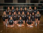Santiago Sharks Girls Varsity Volleyball Fall 18-19 team photo.