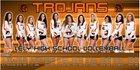 Lely Trojans Girls Varsity Volleyball Fall 18-19 team photo.