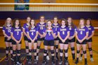 Blackstone-Millville Chargers Girls Varsity Volleyball Fall 18-19 team photo.