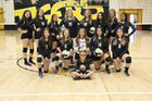 Raton Tigers Girls Varsity Volleyball Fall 18-19 team photo.