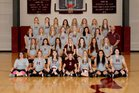 Perryville Mustangs Girls Varsity Volleyball Fall 18-19 team photo.