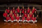 La Veta Redskins Girls Varsity Volleyball Fall 18-19 team photo.