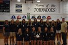 Columbian Tornadoes Girls Varsity Volleyball Fall 18-19 team photo.
