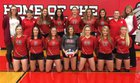 Sundance Bulldogs Girls Varsity Volleyball Fall 18-19 team photo.