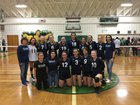Orcutt Academy Spartans Girls Varsity Volleyball Fall 18-19 team photo.