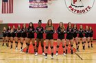 Penfield Patriots Girls Varsity Volleyball Fall 18-19 team photo.