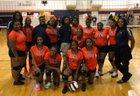 Ellison Lions Girls Varsity Volleyball Fall 18-19 team photo.