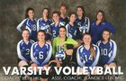 Brimley Bays Girls Varsity Volleyball Fall 18-19 team photo.
