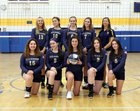Lake Placid Bombers Girls Varsity Volleyball Fall 18-19 team photo.
