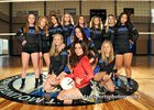 East Mountain Timberwolves Girls Varsity Volleyball Fall 18-19 team photo.