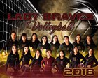 Santa Fe Indian Braves and Lady Braves Girls Varsity Volleyball Fall 18-19 team photo.