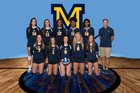 Mount de Sales Academy Cavaliers Girls Varsity Volleyball Fall 18-19 team photo.