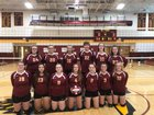Whitney Point Eagles Girls Varsity Volleyball Fall 18-19 team photo.