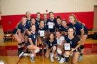 Scripps Ranch Falcons Girls Varsity Volleyball Fall 18-19 team photo.