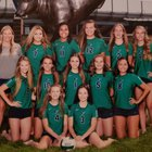 Mountain View Mavericks Girls Varsity Volleyball Fall 18-19 team photo.