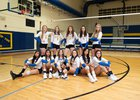 Bloomfield Bobcats Girls Varsity Volleyball Fall 18-19 team photo.
