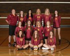 Kingston Buccaneers Girls Varsity Volleyball Fall 18-19 team photo.