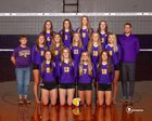 Wenatchee Panthers Girls Varsity Volleyball Fall 18-19 team photo.