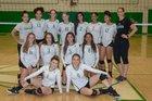 Albuquerque Bulldogs Girls Varsity Volleyball Fall 18-19 team photo.