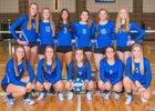 La Salle Lightning Girls Varsity Volleyball Fall 18-19 team photo.