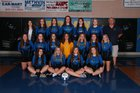 Bergman Panthers Girls Varsity Volleyball Fall 18-19 team photo.