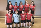 Monte Del Sol Charter Dragons Girls Varsity Volleyball Fall 18-19 team photo.