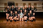 Woodland Beavers Girls Varsity Volleyball Fall 18-19 team photo.