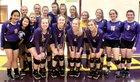 St. Joseph Bulldogs Girls Varsity Volleyball Fall 18-19 team photo.