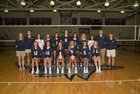 Justice Wolves Girls Varsity Volleyball Fall 18-19 team photo.