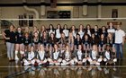 Olympia Titans Girls Varsity Volleyball Fall 18-19 team photo.