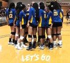Hilo Vikings Girls Varsity Volleyball Fall 18-19 team photo.