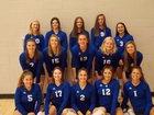 Catholic Memorial Crusaders Girls Varsity Volleyball Fall 18-19 team photo.