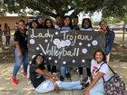 Tara Trojans Girls Varsity Volleyball Fall 18-19 team photo.