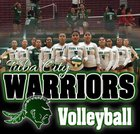 Tuba City Warriors Girls Varsity Volleyball Fall 18-19 team photo.