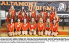 Altamont Indians Girls Varsity Volleyball Fall 18-19 team photo.