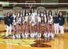 Dobyns-Bennett Indians Girls Varsity Volleyball Fall 18-19 team photo.