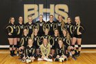 Buffalo Bison Girls Varsity Volleyball Fall 18-19 team photo.