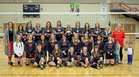 Kemmerer Rangers Girls Varsity Volleyball Fall 18-19 team photo.